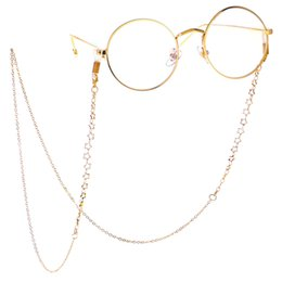 $enCountryForm.capitalKeyWord Australia - Metal Glass Chains Eyewears Sunglasses Reading Glasses Chain Cord Holder Neck Strap Rope Women's Eyewear Accessories
