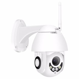 wired ptz cameras UK - BESDER WiFi IP Camera Full HD 1080P Wireless Wired PTZ Outdoor Speed Dome CCTV Security Camera support Two Way Audio App ICSee