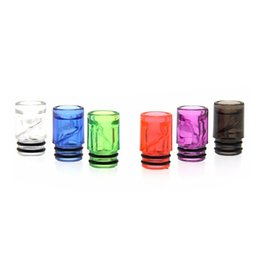 Electronic Cigarette Tester Tips UK - Hotsale colorful 510 mouthpiece plastic drip tips testing tips for vaporizer rda rdta rta atomizer electronic cigarette tips tester dripper