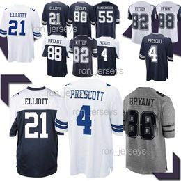 d64dc41bf1f Dallas jerseys Cowboys 21 Ezekiel Elliott 55 Leighton Vander Esch 19 Amari  Cooper 88 Dez Bryant 2019 new jersey TOP quality