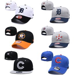 Wholesale 2019 Mens womens Detroit Houston Chicago new ball cap Snapback knit Baseball hats Tigers Astros Cubs Baseball designer hats caps