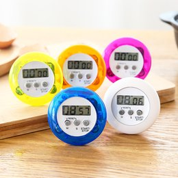 Digital Kitchen Count Down Australia - Round digital kitchen timer Kitchen helper Mini Digital LCD Kitchen Count Down Clip Timer Alarm with batteries in retail box