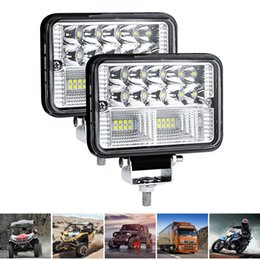 TracTor headlighTs online shopping - 78W LED Light Bar Waterproof Flood Lights Work Light Flood Beam Fog Lamps Headlight For OffRoad Offroad Boat Car Tractor Truck