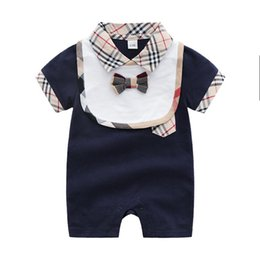 roupas bebe animal UK - New Baby Rompers Summer Baby Boy Clothes 2018 Romper Cotton Newborn Baby Girls Clothes Roupas Bebe Infant Jumpsuits Kids Clothes
