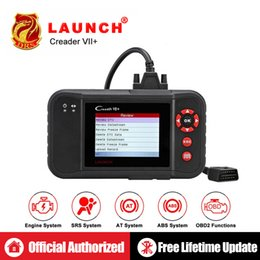 launch car diagnostic scanner Australia - Launch Creader VII+ CRP123 Auto Code Reader X431 VII Plus OBD2 Scanner OBDII Car Diagnostic Tool ABS SRS