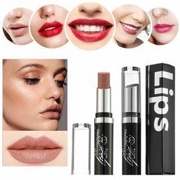 $enCountryForm.capitalKeyWord Australia - New 2019 Fashion 24 Colors Waterproof Long Lasting Matte Lipstick Beauty Makeup Lipstick Maquiagem Drop Shipping
