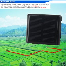 gps tracker voice monitoring Australia - Multi-function RF-V26 Solar WIFI Cattle Cow Sheep Horse Camel GPS Tracker Locator SOS alarm Anti-remove alarm Voice monitoring