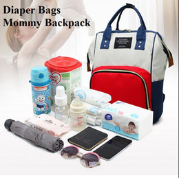 Girl Diaper Mommy Australia - 25*16*40cm 36sets Diaper Bags Mommy Nappies Backpack Outdoor Waterproof Oxford Cloth Multi-function Backpacks Nursing Travel Bags Organizer