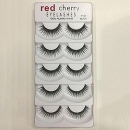 $enCountryForm.capitalKeyWord Australia - Red Cherry 3D False Eyelashes 5 Pairs pack 8 Styles Natural Long Professional Makeup Big Eyes Wholesale 3001224