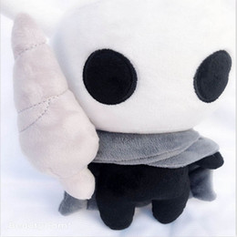 Figures Australia - Hollow Knight 30cm(11.8inch) 2019 New Game Hollow Knight Plush Toys Figure Ghost Plush Stuffed Animals Doll Brinquedos Kids Gift Toys A