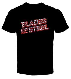 China Blades Of Steel Hockey Video Game 2 Men T ShirtFunny free shipping Unisex Casual Tshirt supplier orange blade suppliers