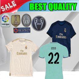 6b51ec6adff 2019 Real madrid home MARIANO soccer jersey 19 20 Real madrid away ASENSIO  VINICIUS JR BALE football shirt 2020 blue RAMOS T shirt