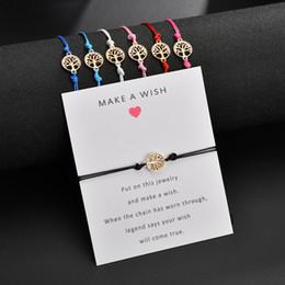 $enCountryForm.capitalKeyWord Australia - Jewelry Supplies Wholesale Crafts Best Wishes Bracelet Bangle Girl Fashion Jewelry Zinc Alloy Round Pendant Chain & Link Bracelets Wholesale