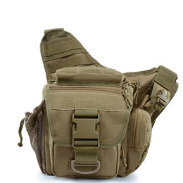 military cameras 2019 - Military Bag Camouflage Tactical Shoulder Strap Bag Pouch Travel Backpack Camera Designer Waistbag ACU Outdoor Sports Sa