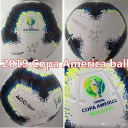 Wholesale 2019 Copa America soccer ball Final KYIV PU size size balls granules slip resistant football high quality ball