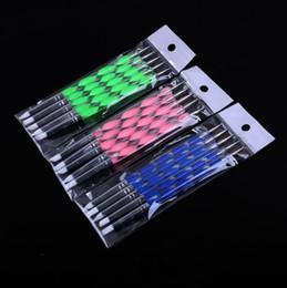 Pen Clay Australia - [a set of five pens] Acrylic Dual-Headed Silica Spot Needle Pen, Nail Pen, Ceramic Clay Tool Modifying Pen