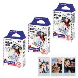 Fuji polaroid camera online shopping - Mini Film Airmail Photo Paper Prints For Fuji Instant Films Camera Mini Neo Polaroid SP