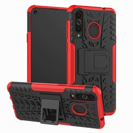 $enCountryForm.capitalKeyWord Australia - For Samsung Galaxy S10E A8S Sony Xperia 1 Mini Huawei Honor V20 Y7 Pro 2019 Stand Hybrid Tyre Tire Army Case Dizzle Defender Armor Cover
