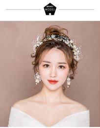 $enCountryForm.capitalKeyWord Australia - Bridal tiara new super fairy wedding hair accessories Mori Korean wedding toast clothing headband dress fairy accessories