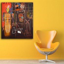 $enCountryForm.capitalKeyWord Australia - AIR POWER by Jean Michel Basquiat,HD Canvas Print Home Decor Art Painting  (Unframed Framed)