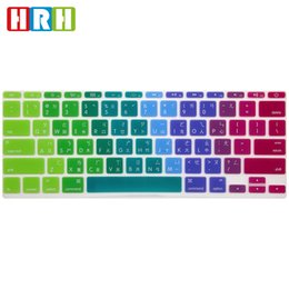 Chinese Macbook Australia - Taiwanese Chinese Language Silicone US Keyboard Cover Skin Protective Film for MacBook 11 12 13 Touch Bar A1465 A1370 A1708 A1707