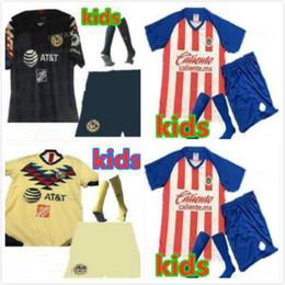 c6beb5dd28d kids kit 2019 LIGA MX Club America soccer Jersey 19 20 Mexico O.PERALTA home  kids kit football jerseys Chivas Guadalajara