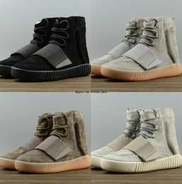ed1344b89bb5 2018 New Kanye boost 750 Release Running Shoes High Top Designer Mnes off  97 Shoe white Athletic Sport Sneakers Skate Trainers Glow 270