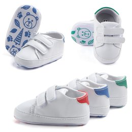 Wholesale 2019 New Hot Cute Solid Infant Anti slip New Born Baby Shoes Casual walking Shoes super quality bebek ayakkabi Great For Baby gifts