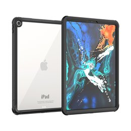 Drop protector for ipaD online shopping - For iPad Pro12 case Full Body Rugged Armor Cover Case with Built in Screen Protector Cover Shockproof Snow Dust proof For iPad12 inch
