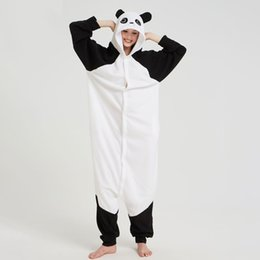 43635d461700 Panda Onesie NZ - Kungfu Panda Kigurumi Black White Animal Onesie Pajama  Funny Loose Adult Fancy