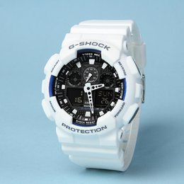 New Luxury Brand Fashion Men watches Diver Led Dual display Sport Watches  Digital Shock Clock Women chronograph G Quartz Watches Montre afa1e02570
