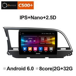 "Discount hyundai elantra radio gps - 9"" 2.5D Nano IPS Screen Android Octa Core 4G LTE Car Media Player With GPS RDS Radio Bluetooth For Hyundai Elantra"