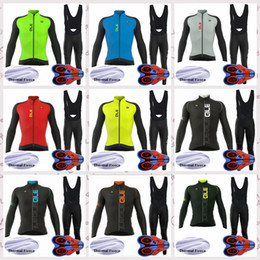 $enCountryForm.capitalKeyWord Australia - ALE team Outdoor Cycling long Sleeves jersey Polyester Clothes Mens Winter Thermal Fleece riding bib pants sets Q82116