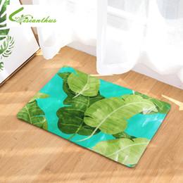 $enCountryForm.capitalKeyWord NZ - Welcome Floor Mats doormat Tropical Plants Printed Kitchen Bathroom rugs House Carpet for Living Room Anti-Slip Tapete Rug