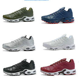 Cheap laCe up sandals online shopping - Brand Top Cheap outdoor Shoes Rainbow Green TN Ultra Sports Requin Sneakers air Caushion fashion luxury mens women designer sandals shoes