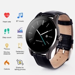 Smart Watch Iphone Android Australia - K88H Smart Watch IPS HD Display Heart Rate Monitor Pedometer Fitness Tracker MTK2502C Men Smartwatch Bracelet For Android IPhone