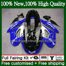 thunderace fairings UK - Thunderace For YAMAHA YZF1000R 96 02 03 04 05 06 07 87MF13 YZF-1000R YZF 1000R 2002 2003 2004 2005 2006 2007 Glossy blue Fairing Bodywork