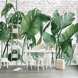 $enCountryForm.capitalKeyWord Australia - 3D Wallpaper Modern Rain Forest Green Plant Mural Wallpaper Living Room Bedroom Background Wall Painting Home Decor Papel Murals arkadi