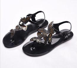 9398786fc99e25 New Designer Spanish Royal Summer Ladies Straps Flats Sandals Sweet Bow  Flat flip flops Bridal Wedding Beach Boho Pregnant Woman Shoes