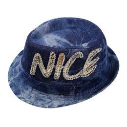 ed7acc268ba Summer Baby Bucket Hat Cool Boys Visor Cap 2-8 Years Fashion Letter Kids  Denim Cowboy Hat Children Outdoor Sport Tractor Caps