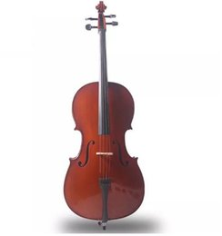 Musical Instruments Acoustic Australia - free shipping Handcrafted solid wood cello can be customized for various colors of children and adults to practice musical instruments