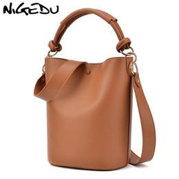 $enCountryForm.capitalKeyWord Australia - NIGEDU women Bucket Bags ladies messenger bag wide strap Women's Shoulder bag Large Capacity luxury lady handbags designer Totes