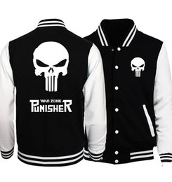 $enCountryForm.capitalKeyWord Australia - 2019 New Plus Size Men Jacket 2017 Spring Bomber Jacket Batman 2  Film Hero  Movie  The Punisher Hip Hop Coat Jackets Sportswear wholesale