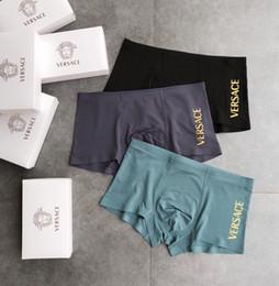 ed1d0bca66b6 With box Designer black Brand Men Underwear Fashion Sexy Mens Boxers  Underwear Men Boxer Short Male Luxury Male Underpants A21