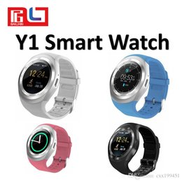 $enCountryForm.capitalKeyWord Australia - Y1 Smart Watch Bluetooth 3.0 Reminder Monitor Anti-lost Camera for IOS Android Smartphone With The Retail Box