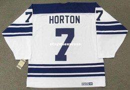 $enCountryForm.capitalKeyWord NZ - custom Mens TIM HORTON Toronto Maple Leafs 1967 CCM Jerseys Vintage Away Cheap Retro Hockey Jersey