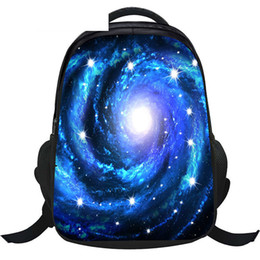 space backpacks 2019 - good quality Galaxy universe anti-theft Lock School Backpack For Teeange Girls Mens Notebook Starry Night space Star Sch