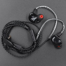 Wholesale Hook Up ZS3 Headphone Clean Sound Quality Cell Phone Accessories Black Headphone ZS3 Not Easy To Fall Off Sport Headphone