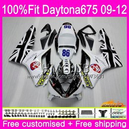 $enCountryForm.capitalKeyWord NZ - Injection For Triumph Daytona 675 09 10 11 12 Bodywork 44HM.21 Daytona-675 Daytona675 Daytona 675 2009 2010 2011 2012 Fairing White Black