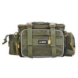 $enCountryForm.capitalKeyWord Australia - LEO Outdoor Sports Large Capacity Multifunctional Bag Waist Pack Lures Fishing Tackle Gear Bags 40 * 17 * 20cm